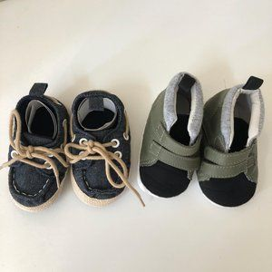 Boy/'s Shoes Infant//Toddler-Navy//Size 5 Baby Deer Deck Shoe